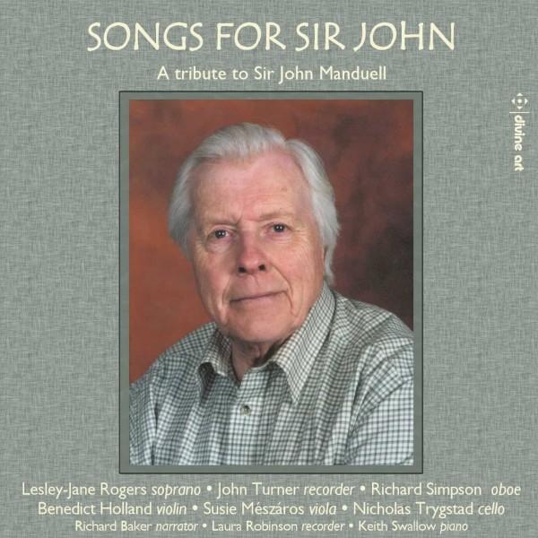 Songs for Sir John - A Tribute to Sir John Manduell