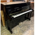 SOLD - Pre-owned Yamaha B2 Upright Piano Black Polyester