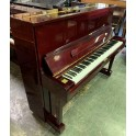 On Rental - Samick upright piano in mahogany polyester pre-owned
