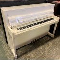 SOLD - Kawai K200 Upright Piano in white polyester (pre-owned)