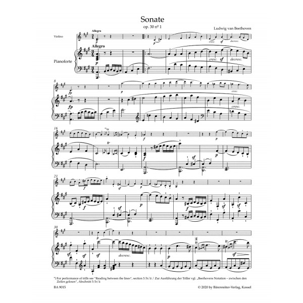 Beethoven - Sonatas for Pianoforte and Violin, Vol. 2