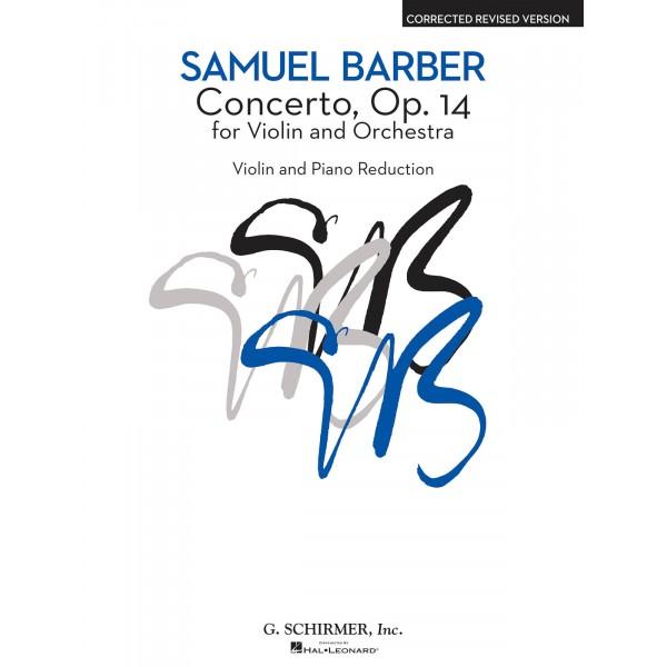 Barber, Samuel - Violin Concerto Op. 14 (Violin & Piano)