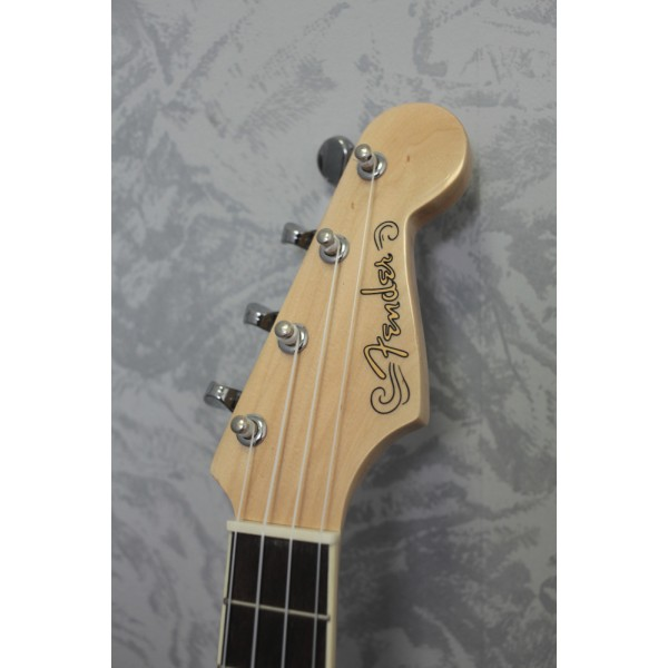 Fender Fullerton Strat Concert Ukulele Black