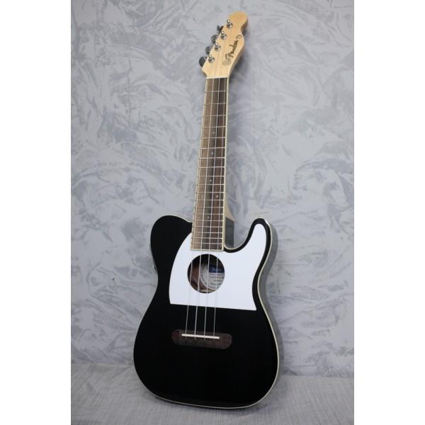 Fender Fullerton Tele Concert Ukulele Black