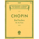 Frederic Chopin: Ballades - Chopin, Frederic (Composer)