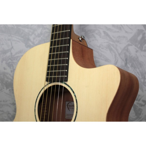 Faith FKV - Naked Venus Cutaway Electro-Acoustic Guitar