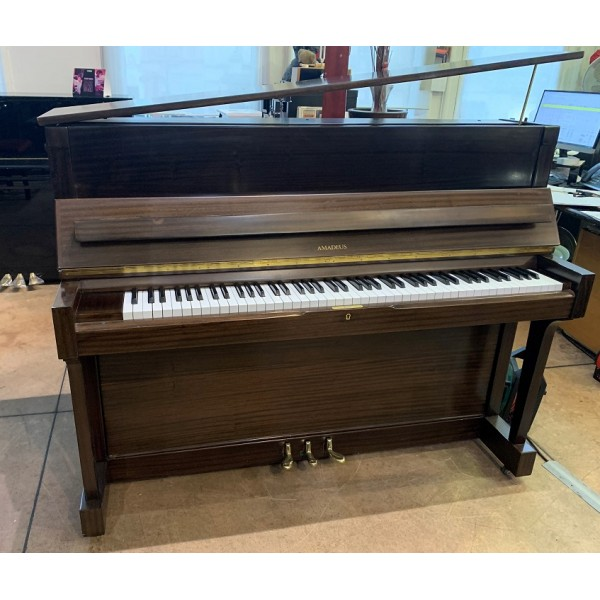 Amadeus A118 Upright Piano in Mahogany Satin
