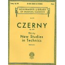 Carl Czerny: Thirty New Studies In Technics Op. 849 - Czerny, Carl (Composer)