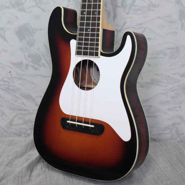 Fender Fullerton Strat Concert Ukulele Sunburst