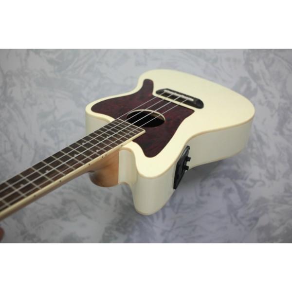 Fender Fullerton Jazzmaster Concert Ukulele Olympic White