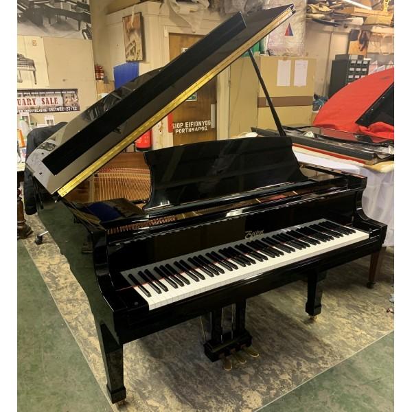 Pre-owned Boston 156 Grand Piano in Black Polyester