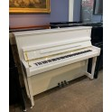 Fridolin Schimmel F116T Upright Piano in White Polyester