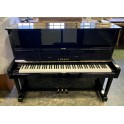 Pre-owned Yamaha U1 Reconditioned Upright Piano in Black Polyester
