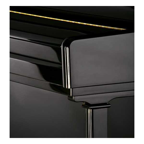 C.Bechstein 124  Elegance Upright Piano - fall detail