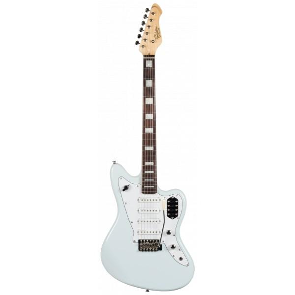 Revelation RJT-60/4 Quad Sky Blue Electric Guitar Left Handed