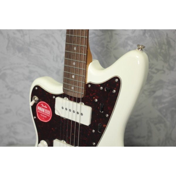 Squier Classic Vibe 60s Jazzmaster Olympic White Left Handed