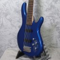 Cort Action V Plus Bass Guitar Metallic Blue