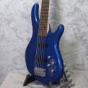 Cort Action V Plus Bass Guitar Metallic Blue