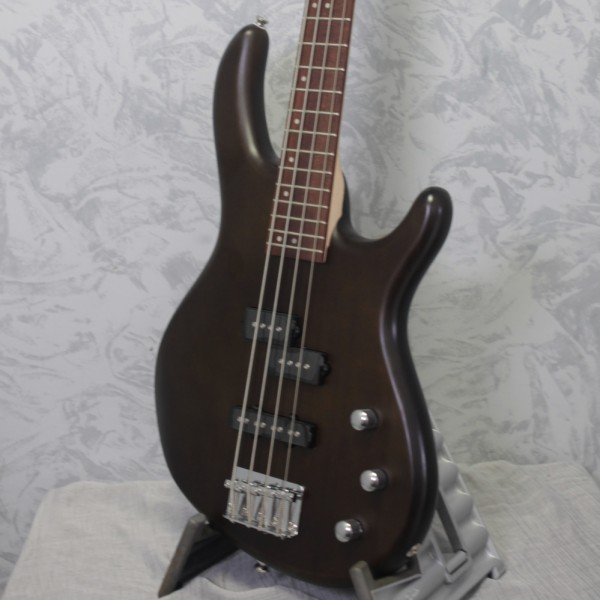 Cort Action PJ Bass Guitar Open Pore Walnut