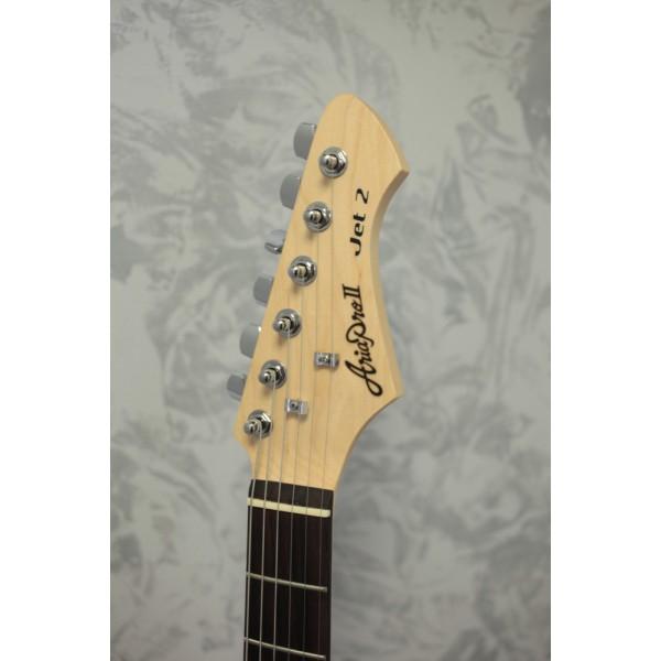 Aria Jet II Electric Guitar Vintage White