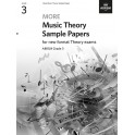 ABRSM MORE Music Theory Sample Papers, Grade 3 (Three)