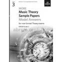 ABRSM MORE Music Theory Model Answers, Grade 3 (Three)