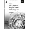 ABRSM MORE Music Theory Model Answers, Grade 4 (Four)