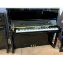 Schimmel K132TT TwinTone Silent upright piano in black polyester (Pre-owned)