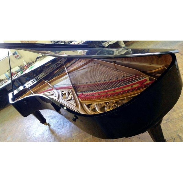 Ibach 265 concert grand in black polyester - fully rebuilt