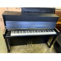 Pre-owned Kawai E200ATXIII Silent Studio Upright Piano in Black Satin