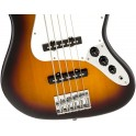 Squier Affinity Jazz Bass V 5 String Brown Sunburst