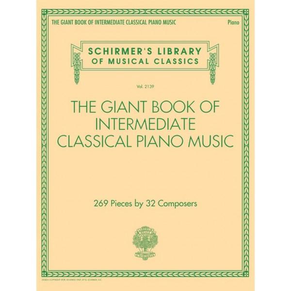 Giant Book of Intermediate Classical Piano Music