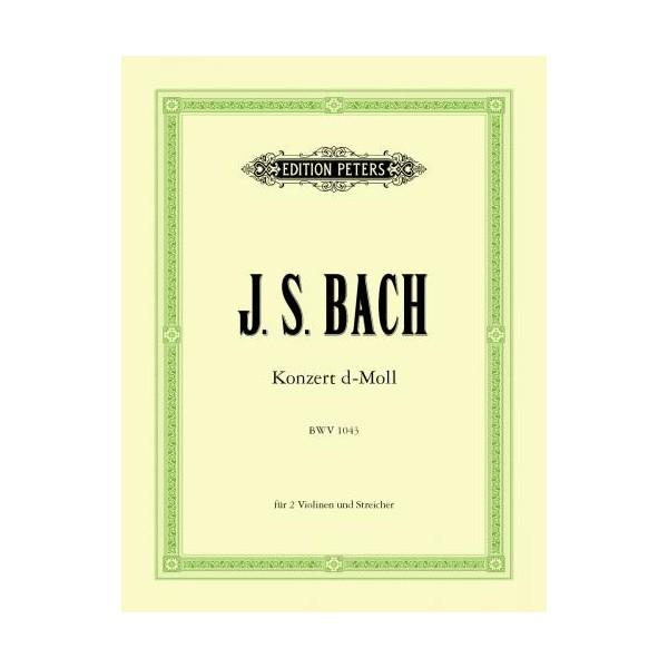 Bach, J S - Double Violin Concerto in D major