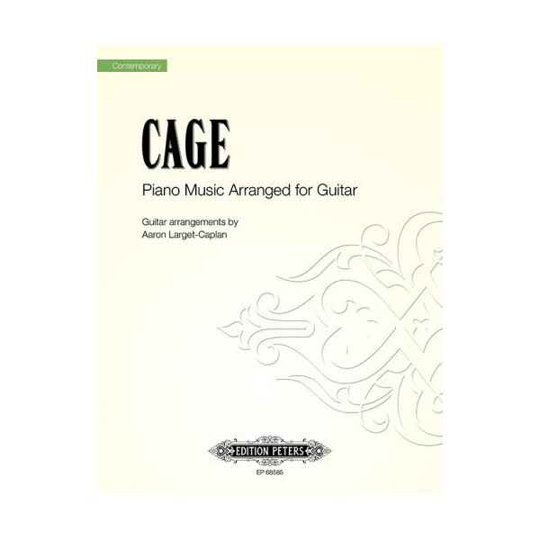 Cage, John - Piano Music for Guitar