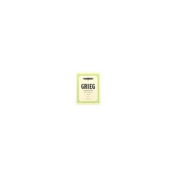 Grieg, Edvard - Lyric Pieces Book 1 Op.12