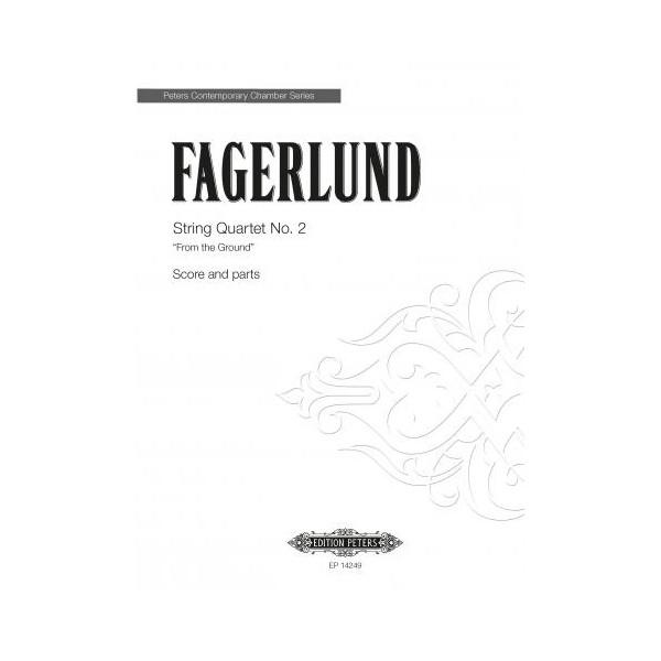 Fagerlund, Sebastian - String Quartet Nº2