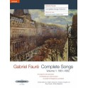 Faure, Gabriel - Complete Songs, Volume One