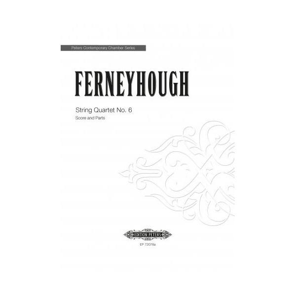 Ferneyhough, Bryan - String Quartet Nº6