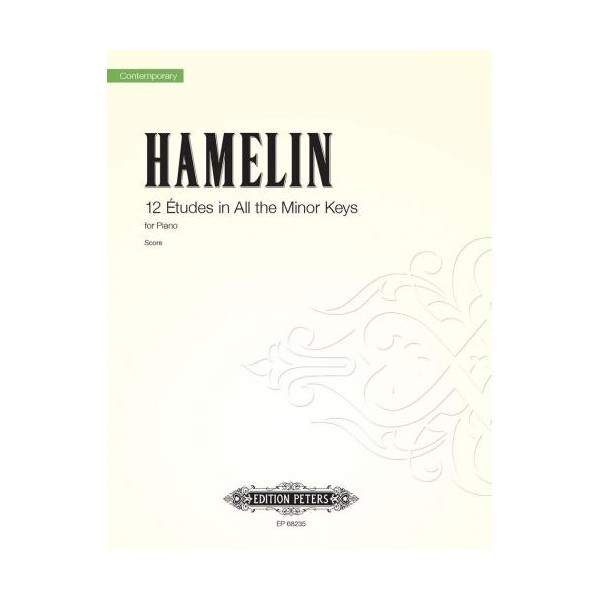 Hamelin, Marc Andre - 12 Etudes in All the Minor Keys