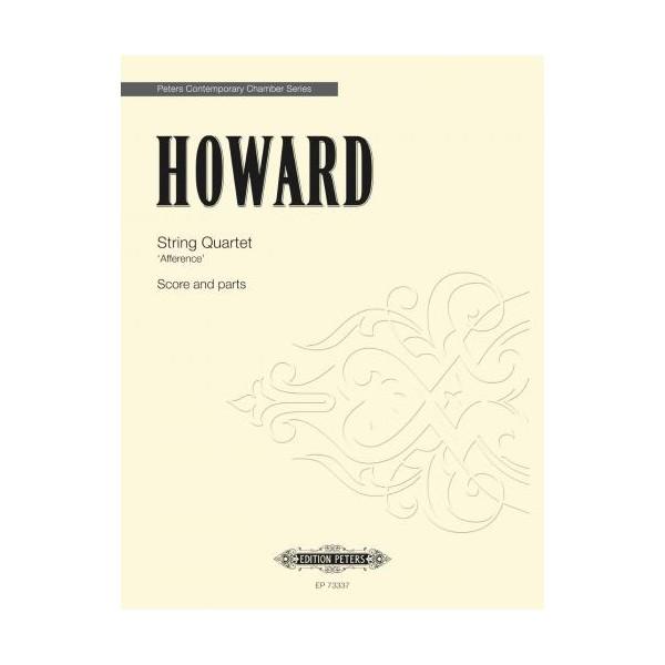 Howard, Emily - Afference Quartet