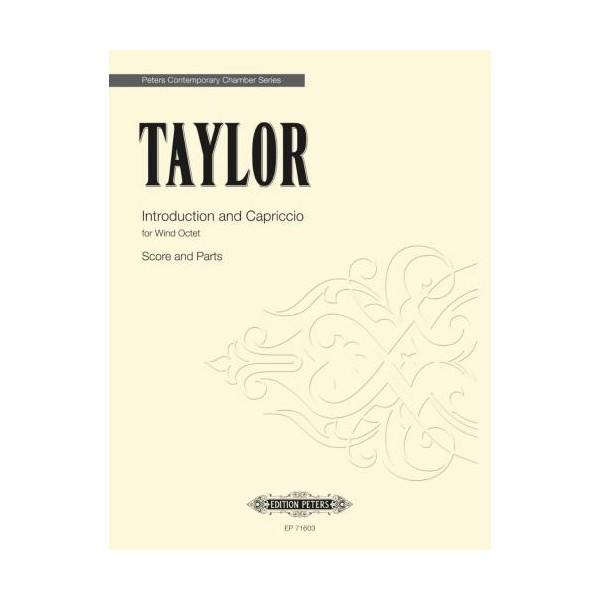 Taylor, Matthew - Introduction and Capriccio