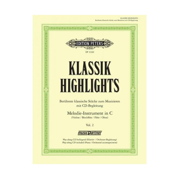 Classical Highlights, Volume Two