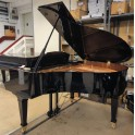 Broadwood Grand Piano in black polyester (Pre-owned)