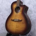 Fender FA-345CE Auditorium 3 Tone Tea Burst Acoustic Guitar
