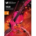 London College of Music, 2021+ Violin Handbook Grade 4