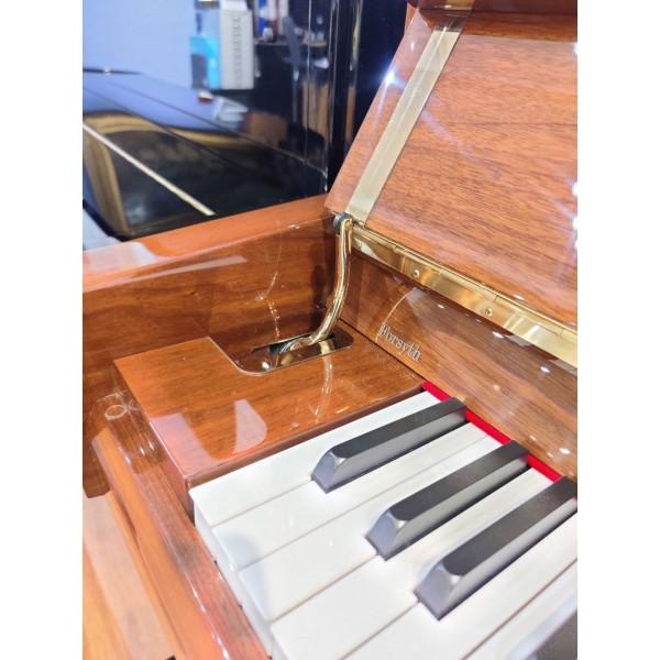 Fridolin Schimmel F121T Upright Piano Walnut Polyester (pre-owned)