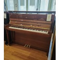 SOLD: Fridolin Schimmel F121T Upright Piano Walnut Polyester (pre-owned)