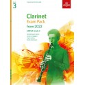 ABRSM Grade 3 Clarinet Exam Pack From 2022