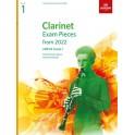 ABRSM Grade 1 Clarinet Exam Pieces From 2022