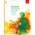 ABRSM Grade 2 Clarinet Exam Pieces From 2022